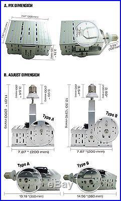 E39 240W LED Retrofit Kit Parking Lot Light Replace 1500W Tennis Court Lamp DLC