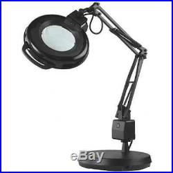 ELECTRIX 7126 LED Magnifier Light, LED, Diopeter 5, Blk, 19W
