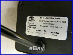 Electrix LED Black Magnifying Task Light 1,143mm Clamp Mount 7122 LED