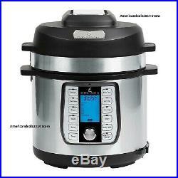 Emeril Lagasse 8-qt Pressure Cooker Air Fryer Duet 12 in 1 & Dual Lid Designs