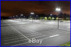 Energy Saving Parking Garage LED Light Parking Street Pole Lights 300W 5000K