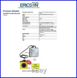 Ericson 1000-MH Metal Halide Wide Area Magnetic Industrial Task Work Light Lamp