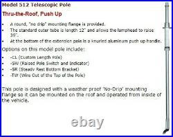 Fire Research Spectra LED Pole Mounted Scene Light SPA512-K20-TW-SW