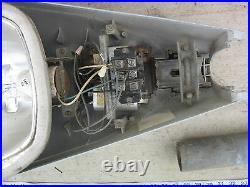GE HPS 70W 120V Luminaire Outdoor Street Lighting w Light Holder, Used