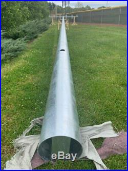 Galvanized Steel Poles for Stadium Lights in height (840 inches) (70 Feet)