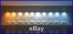Grey 96W 4 ft. Warehouse Hanging Garage Shop Light Fixture (4) LED T8 24W 4500K