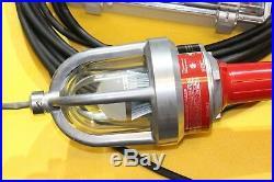 Hazardous Location 12v DC LED Drop Light Hand Lamp Explosion Proof 25 16/3 Cord