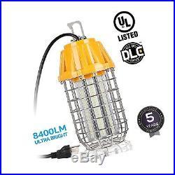 High Bay LED Temporary Work Light Fixture 5000K Daylight 60W (550W Equiv.) 84