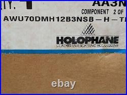 Holophane Acrylic Washington Model Post Top Globe