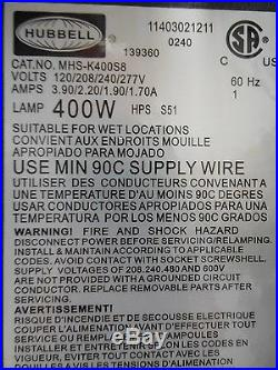 Hubbell Outdoor Mhsk400s8 400w High Pressure Sodium Floodlight