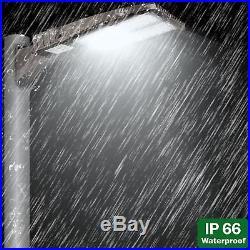 Hykolity 150W LED Shoebox Commerical Pole Parking Light Security Lighting