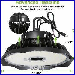 Hykolity 240W UFO LED High Bay Light Warehouse Workshop Garage Fixture UL DLC