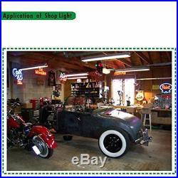 Hykolity 4FT Linkable LED Shop Light 42 Watt Garage Workbench Ceiling Lamp 5000K