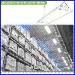 Hykolity LED Linear High Bay Light 4FT 223W Commercial Warehouse Garage Light