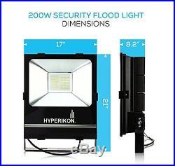 Hyperikon 200W LED Flood Light, (1000 Watt Equivalent), 22000 lumen, 5000K Su