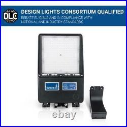 Hyperikon Outdoor Street Area Light 500-Watt Photocell Integrated LED Waterproof