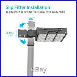Hyperlite LED Parking Lot Light fixture shoebox lighting UL DLC outdoor 150W200W