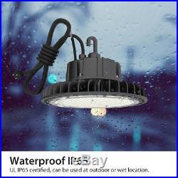 Hyperlite UFO High Bay LED Warehouse Light fixture factory shop lighting 4/5000K