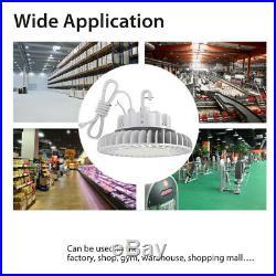 Hyperlite ufo LED high bay shop light fixture 100W 150W 200W 250W 5 yrs warranty