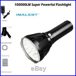 IMALENT MS18 Outdoor 100000 LM LED Rechargeable Flashlight Super Powerful Torch