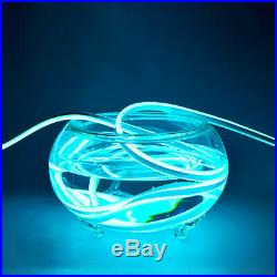 Ice Blue Light Strip LED Neon Rope Light for Room Waterproof Home Party Decor