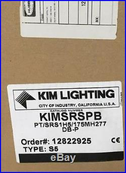 KIM Lighting Solitare Glass Street Lamp Post Outdoor Parking Light Hubbell
