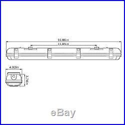 Kihung LED T8 Vapor Proof Garage Light 4ft 44W Ultrahigh Brightness 6500K IP65