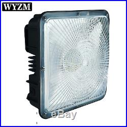 LED CANOPY LIGHT DROP LENS 70Watt 5700K Gas Station Warehouse Highbay USA SELLER