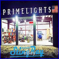 LED HIGH BAY LIGHT 4FT 5000k DAYLIGHT WHITE MAX COVERAGE SHOPLIGHT USA MADE