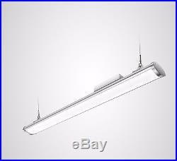 LED High Bay Light 100W Linear LED Lighting Cool White 5500K Aluminium IP65