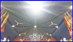 LED High Bay Light 160w UFO Philips LED Meanwell 5 year UK Warranty & Stock UPS