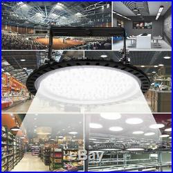 LED High Bay Light 500W 300W 200W 100W Watt Warehouse Led Shop Lamp Fixture UFO
