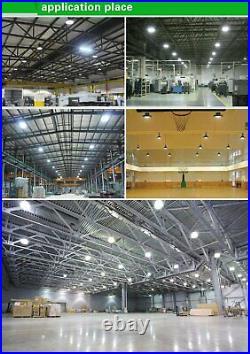 LED High Bay Lights UFO 500W 300W 200W 100W 50W Warehouse Led Shop Light Fixture