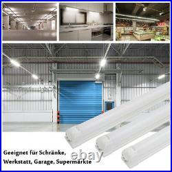 LED Leuchtstoffröhre 120cm 150cm komplett Set mit Fassung T8 Röhre Lichtleiste