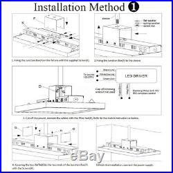 LED Linear Dimmable High Bay Light 5K 320W Warehouses Factories Light 100-277VAC