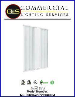 LED Linear High Bay Light 205 Watt Warehouse light, 29000 Lumens, Motion Sensor