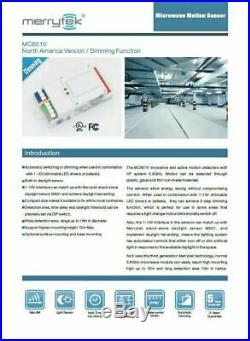 LED Linear High Bay Motion Sensor Warehouse Light 170 Watts, 5000 Kelvin