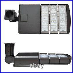 LED Parking Lot Light 100W 150W 200W 300W Street Pole fixture Shoebox Area Light