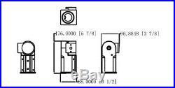 LED Parking Lot Light 150W Street Pole fixture Shoebox Area Light 100-305V AC