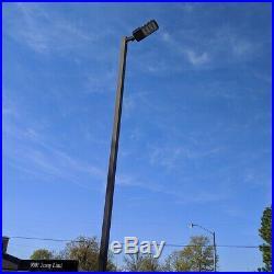 LED Parking Lot Light 200W Arm Mount Street Shoebox Area Light Fixture ETL, DLC