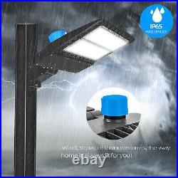 LED Parking Lot Light 300Watt Module Street Area Shoebox Light Pole fixture