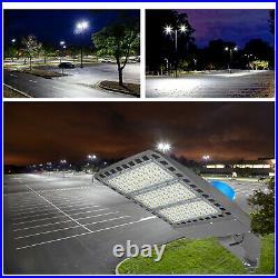 LED Parking Lot Light 300 Watt Commercial Outdoor IP65 Shoebox Street Pole Lamp