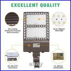 LED Parking Lot Light Module Street Pole fixture Shoebox Area Light 320W 5000K