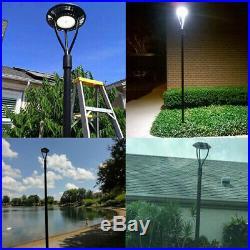 LED Parking lot Street Light IP65 ETL DLC 100W LED Post Top Light 5000K 120/277V