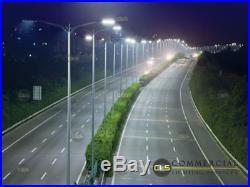 LED Pewter Street Light. Factory, Industrial, Security, Parking Light. 300 Watt