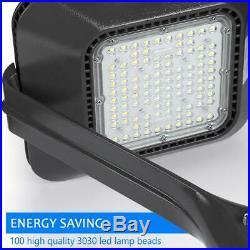 LED Post Top Light Fixture 100W Garden Roadway Area Pole Lighting 5000K UL