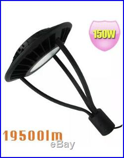 LED Post Top Light Fixture 150W Replace 400W MH Outdoor Street Area Light 5000K