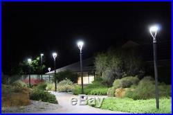 LED Post Top Pole Light Fixture 150W Replace 400W MH Garden Street Lights 5000K