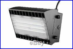 LED Semi-Cutoff Wall Pack 150 Watt, 16000 lumen, 5000 Kelvin 100-277 volt UL D