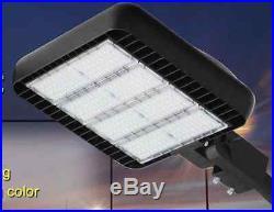LED ShoeBox 300W Light Parking Lot Fixture Philips replaces 750W-1000W MH/HPS